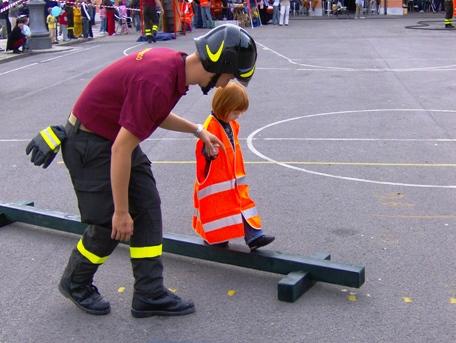Si ribalta mezzo, vigile del fuoco ferito a Castelluccio