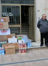 La Stazione dei Carabinieri di Lago dona alla parrocchia generi di prima necessita'